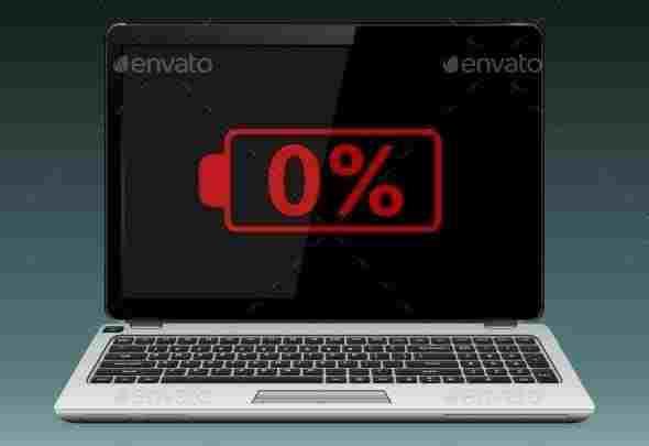 Tanda baterai laptop rusak