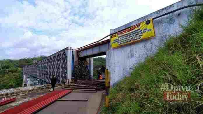 Jembatan Cirahong Ditutup