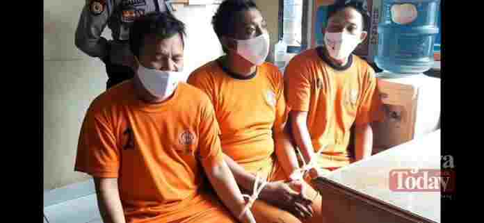 Tiga Sahabat Pencuri Gas LPG Diamankan Polres Tasikmalaya